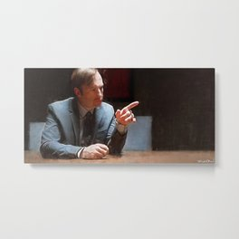 This Injustice Will Not Stand - Better Call Saul Metal Print