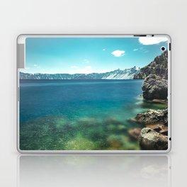 Summertime Lakeside - Crater Lake Laptop & iPad Skin