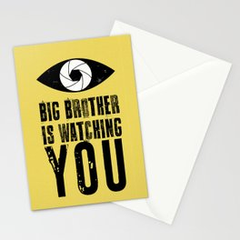 Big Brother is Watching YOU! Stationery Cards
