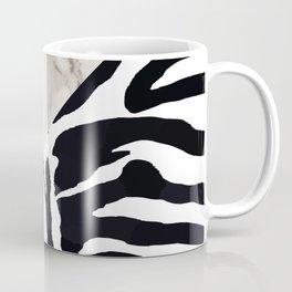 Zebra,marble texture design Coffee Mug