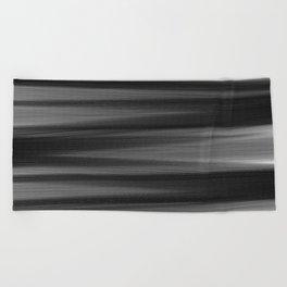 Soft, Dreamy Black White Beach Towel