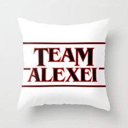 Team Alexei Throw Pillow