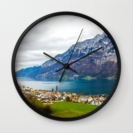 Peaceful Bay Wall Clock