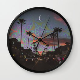 Spaced-Out Night Wall Clock