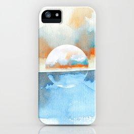 Orange Sea Drop iPhone Case