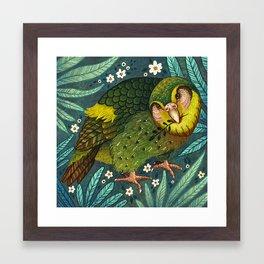 Kakapo Framed Art Print