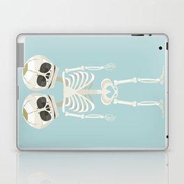 Siamese Twins Skeleton Laptop & iPad Skin