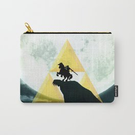 Zelda Link Triforce Carry-All Pouch