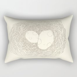 Who Egg ?  Rectangular Pillow