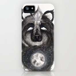 Selene the Moon Bear. iPhone Case