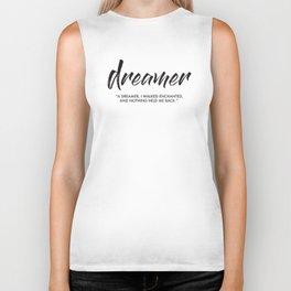 Dreamer Biker Tank