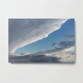 Cumulonimbus Clouds 1  Metal Print