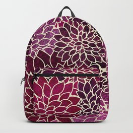Floral Abstract 12 Backpack
