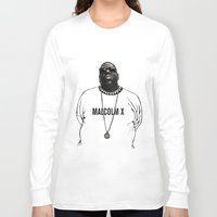 biggie Long Sleeve T-shirts featuring BIGGIE by amanda balboa