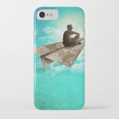 Paper Aeroplane iPhone 7 Slim Case