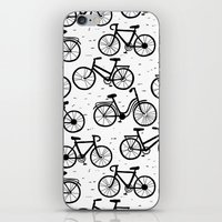bikes iPhone & iPod Skins featuring Bikes by sarknoem