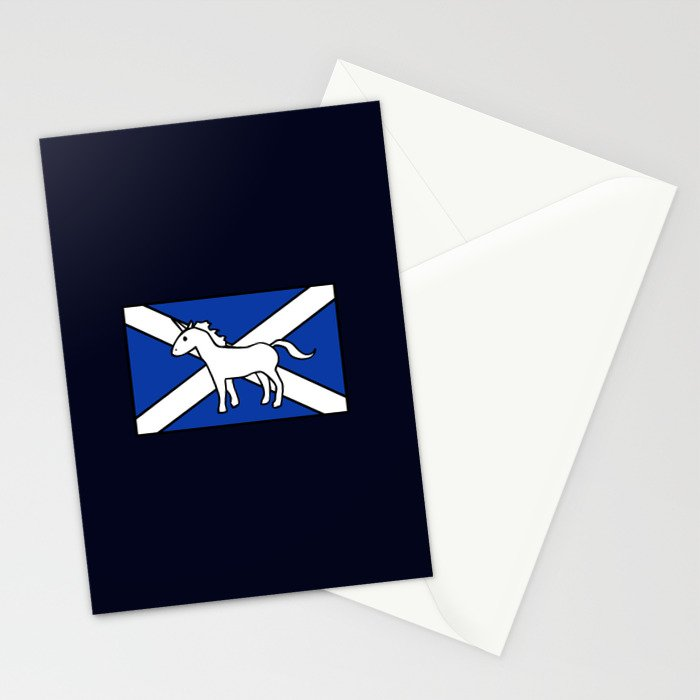 Unicorn, Scotland's National Animal Stationery Cards