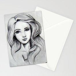 Ella Portrait Stationery Cards