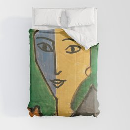 Portrait of Lydia Delectorskaya - Henri Matisse Comforters