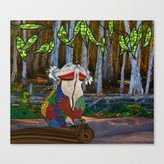 Doodlage 07 - Koala Dreaming Canvas Print