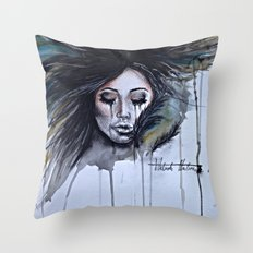 Nightmares Take Over Throw Pillow