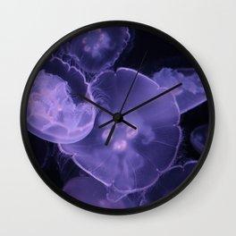 A Jellyfish Bloom Wall Clock