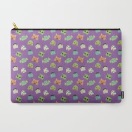 Halloween Monster Head Pattern Carry-All Pouch