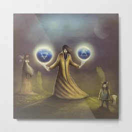 Sorcerer Spells Of Earth and Air Metal Print