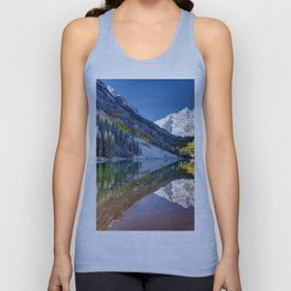 Maroon Bells Colorado Unisex Tank Top