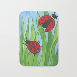 Ladybugs Bath Mat