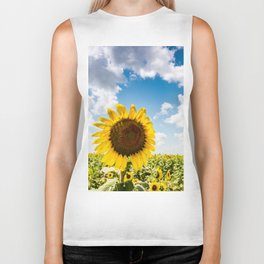 The Sunflower Biker Tank