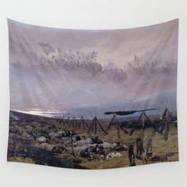 Le Rêve (The Dream) by Édouard Detaille (1888) Wall Tapestry