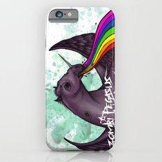 Zombie pegasus puking a rainbow iPhone 6s Slim Case