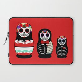 Halloween Russian dolls Laptop Sleeve