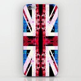 circuit board United Kingdom (flag) iPhone Skin