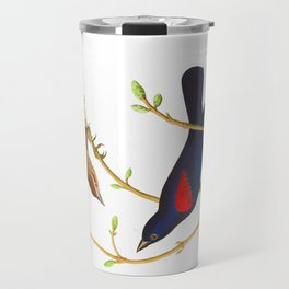 Prairie Starling Bird Travel Mug