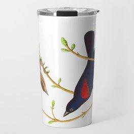 Prairie Starling Bird Travel Mug
