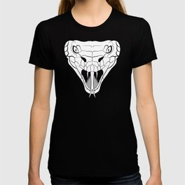Snake head lineart T-shirt