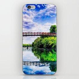 Barton Springs Bridge iPhone Skin