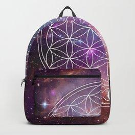 Flower of Life Sacred Geometry Backpack