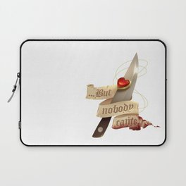Locket and Knife Laptop Sleeve