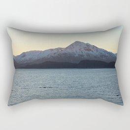 Barometer Mountain Photography Print Rectangular Pillow