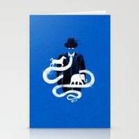 political Stationery Cards featuring Political tie by barmalisiRTB