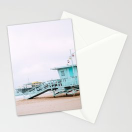 Santa Monica Pier Lifeguard Stationery Cards