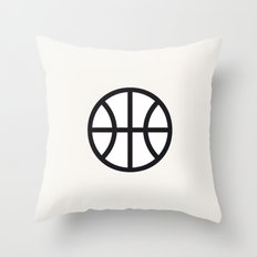 Basketball - Balls Serie Throw Pillow