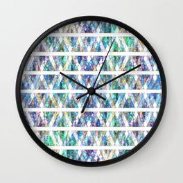 Geometric Glossy Pattern G331 Wall Clock