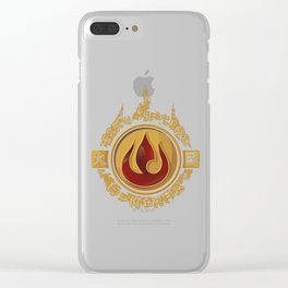 Fire Nation Admiral Clear iPhone Case
