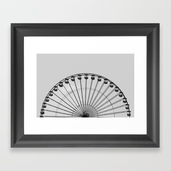 Wheel   (h) Framed Art Print