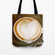 Coffee Has My Heart Tote Bag