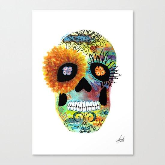 Halloween#Skull#Death day Canvas Print